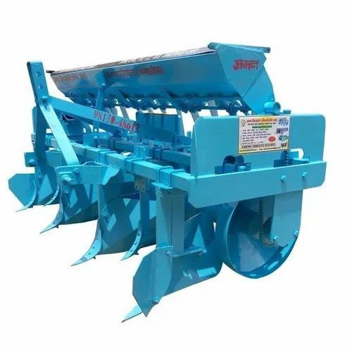 Agriculture Bed Planter Seed Sowing Machine At Rs 95000 Unit