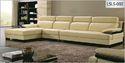 Mayuri International Creamy Leatherite Sofa L Sls-002