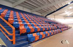 Indoor Blow Molding Stadium Chairs