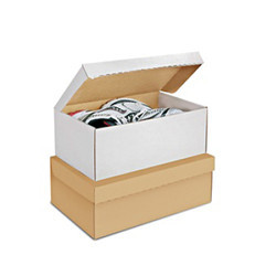Corrugated Shoe Box, for Shoe Packaging, 1 to 2 Ply