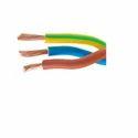 Single Core Pvc Non Sheathed Heat Resistance Cable 300/500v