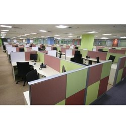 Modular Office Cubicle
