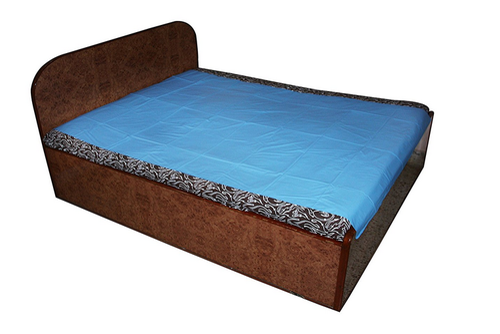 Mattress Plastic Sheet Royal Light Blue, Queen Size Bed Plastic Cover