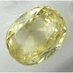 Natural Yellow Sapphire Ceylon Stone