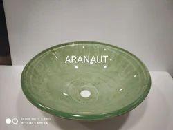 Glass Basin Bowl
