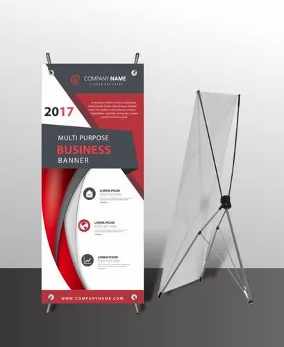 Multicolor Roll Up Banner Standee