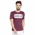 Men Half Sleeves Round Neck T-Shirt
