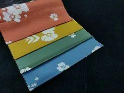 Cotton Flower Design Printed Fabric, GSM: 150-200