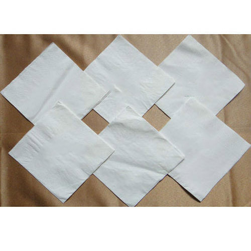 Paper Napkin White Plain Paper Napkin Manufacturer From