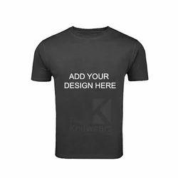 Custom Round Neck Half Sleeve T Shirt