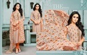Cotton Embroidered Churidar Salwar Kameez