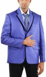 Men Small Royal Blue Coat