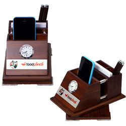 Revolving Clock With Stand