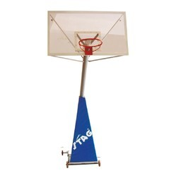 Basketball Post Metal 8.5 Inch Pipe Stag B4104N