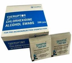 Theruptor Chlorhexidine Alcohol Swab for Hospital