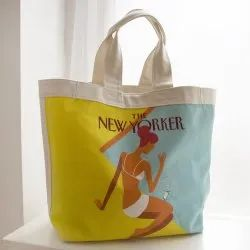 Designer Cotton Bags, Size: 14 x 13 inches, Capacity: 5 kg