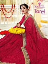 Kalista Tanvi Vol 1 And Tanvi Vol 2 Exclusive Designer Fancy Saree