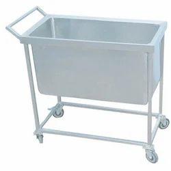 Steel Dustbin Trolley