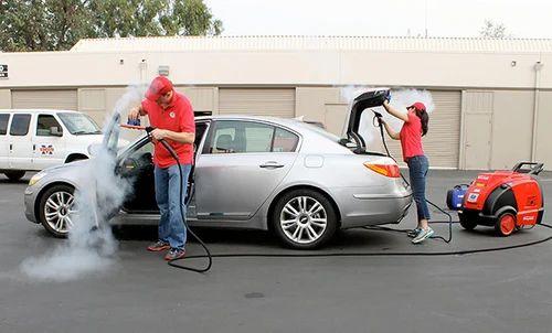 interior and exterior car wash