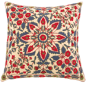 Thread Work Embroidered Cushion Cover, Size: 45*45cm