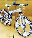 BMW X6 White Foldable Cycle