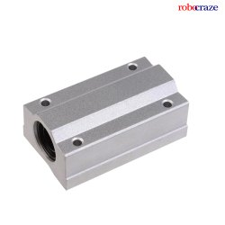 Robocraze SC8LUU Linear 8mm Brushing Steel Linear Motion Ball Shafts CNC Router Mill Linear Stage