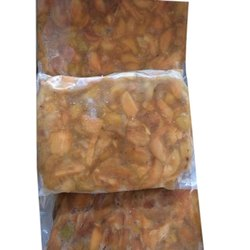 Natural Frozen Sapota ( Chikoo ) Slices, Packaging Size: 1 Kg, Packaging Type: Plastic Pouch