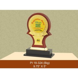9.75x5 Inches Wooden Trophies