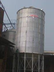 Hopper Bottom Grain Storage Silo