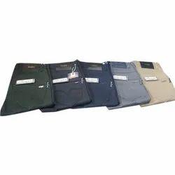 Regular Fit Men Cotton Formal Pant, Waist Size: 28-36