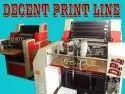 Single colour offset printing machine