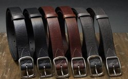 Genuine Leather Mens Western Belts