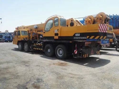 QY50B XCMG 50 TON, Boom Length: 42 58m, Max Height: 55 8m