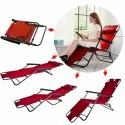 Folding Indoor Outdoor Home Beach Garden Recliner Deck Chair