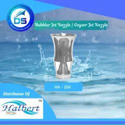Fountain Bubbler Jet Nozzle , Geyser Jet Nozzle - HA-250
