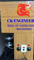 CK Engineering Single Semi Bowl Making Machine