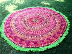 Towel Round Beach Throw