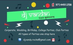 Disc Jockey Dj Service For Party