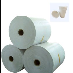 White PE Coated Paper for Paper Cups, For Industrial, GSM: 150 - 200
