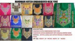Kutch Original Mirror Work Neck Yoke