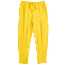 Ladies Cotton Lycra Yellow Plain Lower, Size: S-XXL
