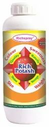 100 % Liquid Rich Potash, Agricultural Grade, Packaging Size: 0.5 And 1 Liter
