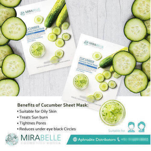 Well cucumber facial benefits
