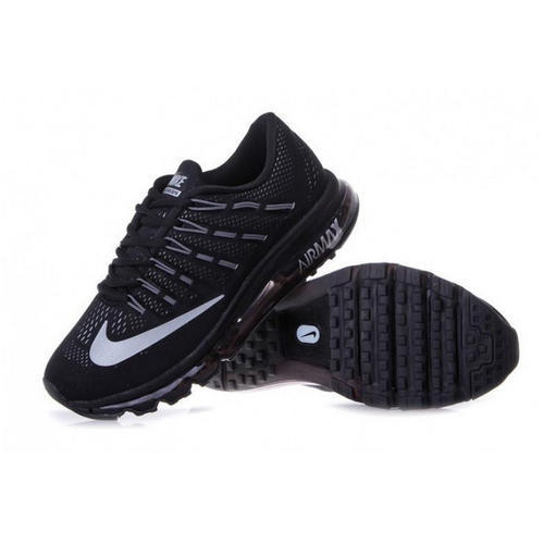 Nike Airmax 2016 Full Black Running Shoes