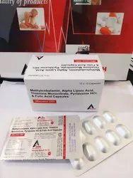 Mecobalamin 1500 mcg ALA 100 mg Vit. B6 3 mg B9 1.5 mg