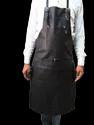 Designer Black Leather Apron