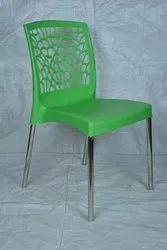SS Leg Plastic Chair