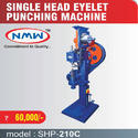 Single Head Eyelet Punching Machine