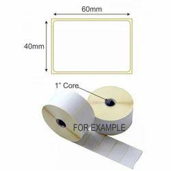 60x40 mm Thermal Transfer Sticker & Label