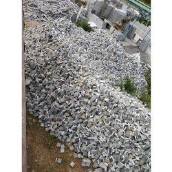 Gray Outside Export Cable Limestone, For Wall Tile, Size: 10*10 Cm